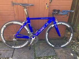 Planet X time trial road bicycle for sale