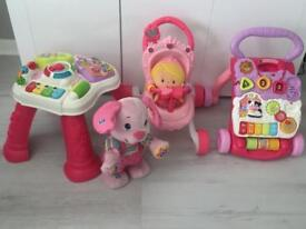 Baby toys / walkers / table