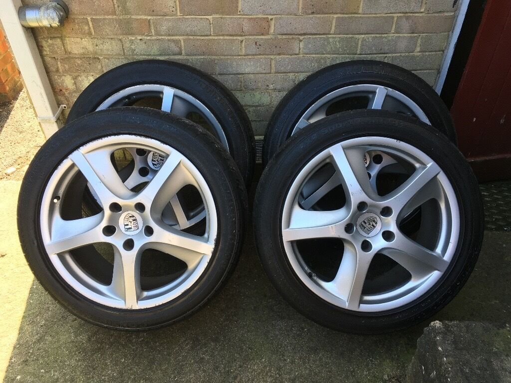 porsche alloys wheel rims tyres for sale gumtree. Black Bedroom Furniture Sets. Home Design Ideas