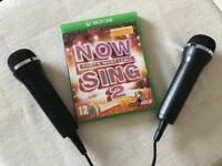 Xbox One Now Sing 1+2 and 2 Microphones