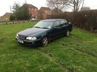 Volvo s70 2.5 turbo mot Feb. Drives great automatic £400
