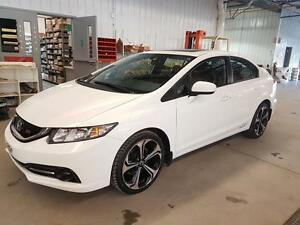 2015 Honda Civic Sedan SI 4 PNEUS NEUFS NAVIGATION  MAGS 18PO