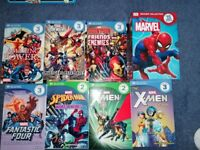 Marvel Readers Collection 15 books 3 reading levels