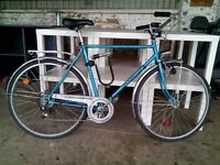 Classic NSU town bike hybrid great for town and commuting mens large