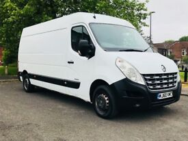 renault master 120bhp 6 speed mnual long wheel base comes with full history service mint condition