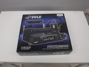 Pyle VHF Wireless Mic System. We buy and sell used electronics. 8080 CH613404