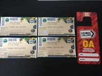 2 x Kendal Calling Tickets (2 adults + parking pass and early Thursday entry)