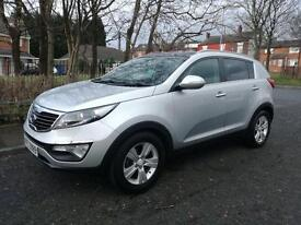 KIA Sportage 1.7 Lady owner, full service history, 2 keys, Panoramic roof, part leather.
