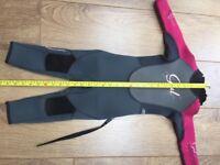 Girls full length Gul wetsuit
