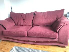 DFS 2-3 seater sofa