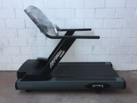 Life Fitness Commercial Treadmill TR9500next gen immaculate £750 was over £6K new.