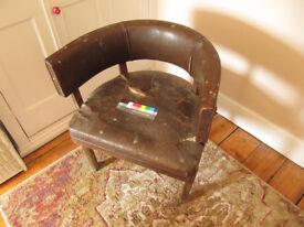 Leather Captains Chair - Leather - Decco - Restoration