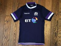 Scotland Rugby Official Home Replica Jersey season 2017/18, size XXL but fits XL or even L