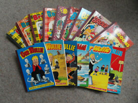"""15 """"Broons"""" and """"Oor Wullie"""", Annuals"""