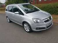 Vauxhall Zafira 2006!7 seats!!1.9 diesel Design!150 HP! 6 speed 12 Mont MOT