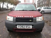 ONLY 75000 MILES 4X4 FREELANDER WITH MOT JULY 2017