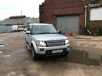 LAND ROVER DISCOVERY TD4 AUTO FULLY LOADED AND FACE LIFTED TO A 2016 MODEL