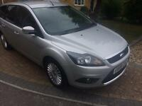 £30 road tax and very economical - Ford Focus Titanium TDci 109 Diesel Estate 1.6 Silver