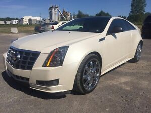 2013 Cadillac Coupé CTS AWD ***BAS KILOMÉTRAGE***