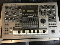 Roland MC 505 with flight case