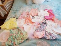 Beautiful bundle of baby clothes from smoke free home age first size and up to 1 month