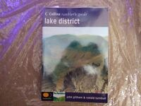 Collins ramblers guide to the Lake District - As new - includes plastic sleeve - hiking / walking