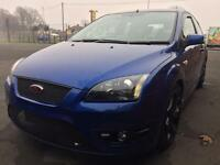 FORD FOCUS ST 3 FULL LEATHER XENONS POPS AND BANGS 10 MONTHS MOT BLUE PX SWAP