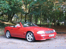 1992 Mercedes SL300 R129 automatic convertible with hard top. Not BMW or Audi
