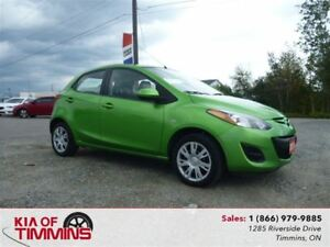 2011 Mazda MAZDA2 GS 5-Speed Manual Low Km