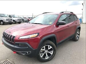 2014 Jeep Cherokee V6 !! Trailhawk--PST PAID