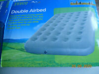Double Flocked Camping Airbed Mattress