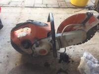 St410 Stihl disc cutter