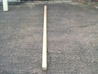 pine tanalith treated posts 3X3 (75x75)mm x2700mm