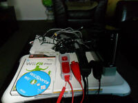 Nintendo Wii limited edition black with controllers board and games