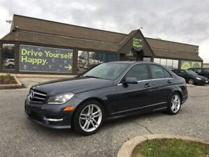 2014 Mercedes-Benz C-Class 300 / LEATHER / SUNROOF / AWD