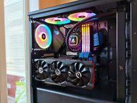 Gaming/Editing PC-AMD Ryzen 7 3800XT Water-cooled, EVGA RTX 3070, 32GB RAM, 500GB SSD, 2TB HDD