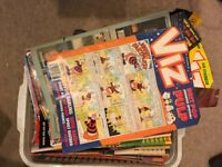 Very Old Viz Comics For Sale Issues 50 to around 130