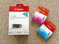 Canon CLI-42 set of 8 GENUNE inks for Pixma PRO-100S + 2 inks extra FREE