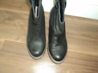 Coolway Cowboy / Western Boots Real Leather UKsize 5, USsize 6, EUsize 38