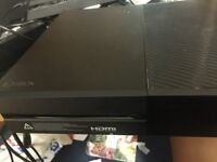 Xbox one with nba 2k18,ufc2, plus others