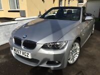 BMW 330i Msport Convertible - Leather - Low Milage - Auto - SatNav - Climate - Xenons