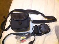 Nikon Coolpix L810 with bag