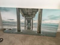 Large 4 foot B&Q Canvas Painting