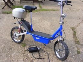 Teen/Adult Electric Scooter Bike twist and go