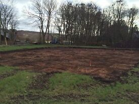 Building Plot Cuminestown, Turriff, Aberdeenshire. Full planning permission.