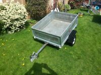 Erde 122 camping goods trailer with cover