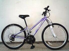 """(2807) 24"""" APOLLO XC.24 GIRLS KIDS CHILD MOUNTAIN HARDTAIL BIKE BICYCLE Age: 8-10, Height: 127-142cm"""