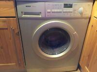 Bosch Exxcel Washer Dryer in excellent condition, Matt grey.