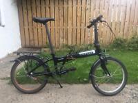 Single speed Dahon folding bicycle