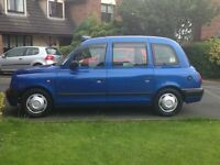 TX 11 2005 auto.Silver spec.Nissan conversion.meter,printer, taxi sign included good condition £4000